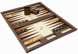 Oxford Backgammon Set de Dal Negro